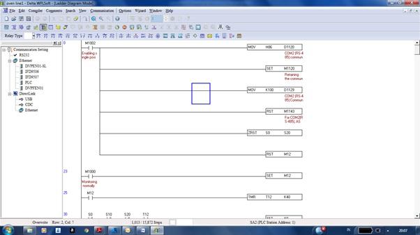 cara convert memory dan plc delta1